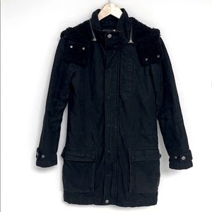 Utility Jacket with Detachable Hood S